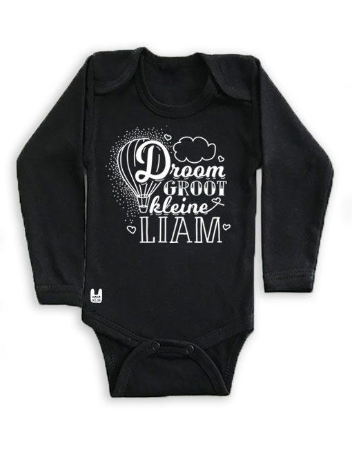 rompertje-zwart-droom-groot-kleine-baby