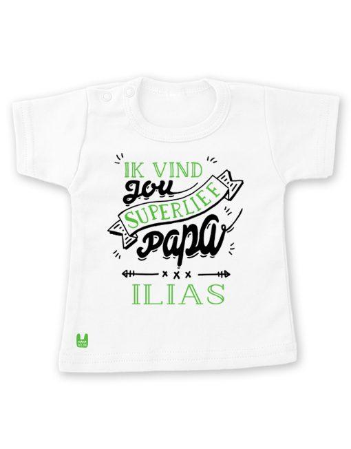 t-shirt-liefste-papa-groen